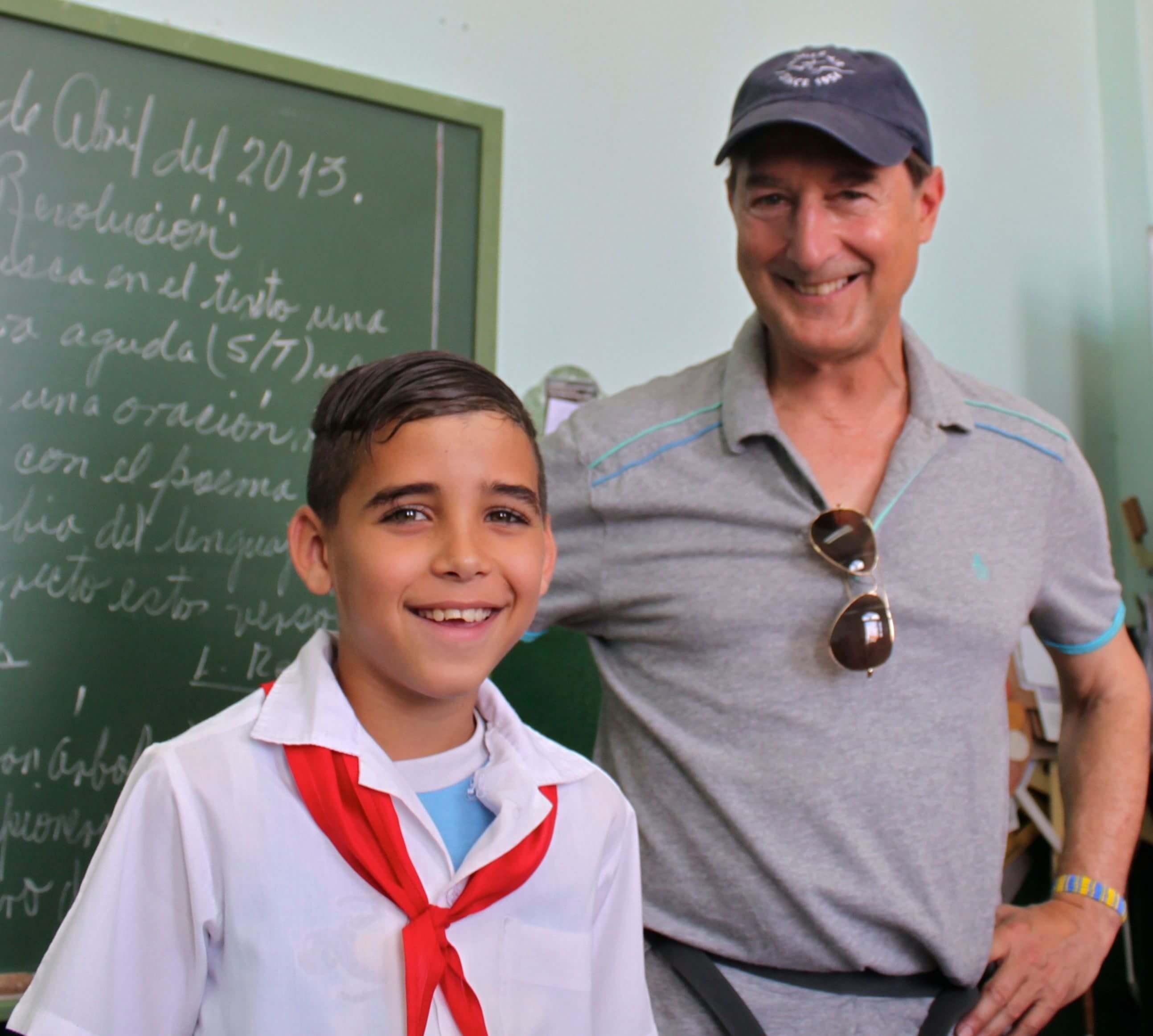 Dr. Stuart Grauer in Cuba